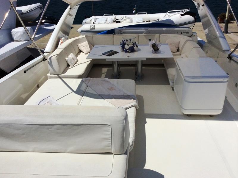 Motor yacht DOUBLE XELLE -  Flybridge