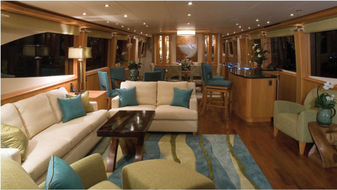Motor yacht Don Carlo -  Main Salon