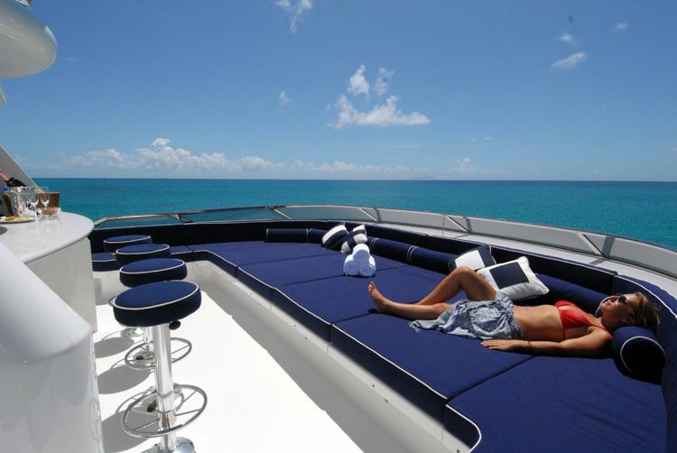 Motor yacht Dona Lola -  Sundeck 2