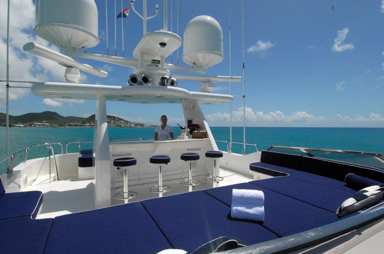 Motor yacht Dona Lola -  Sundeck