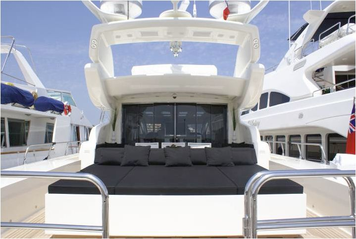 Motor yacht FRIDAY -  Aft Deck Sunpads
