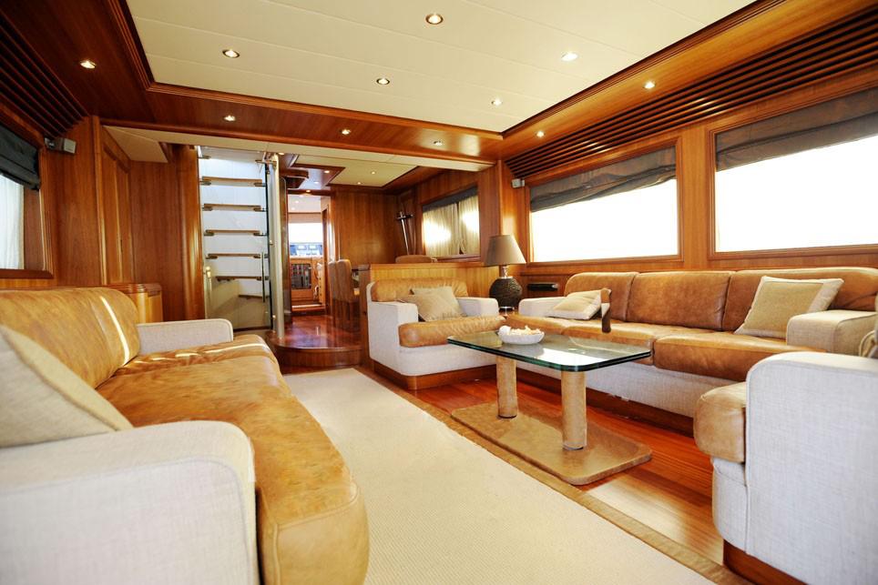 Motor yacht HAPPY FEET -  Salon