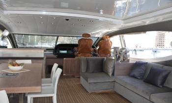 Motor yacht IROCK -  Formal Salon