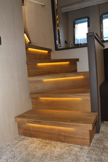 Motor yacht IROCK -  Guest Staircase