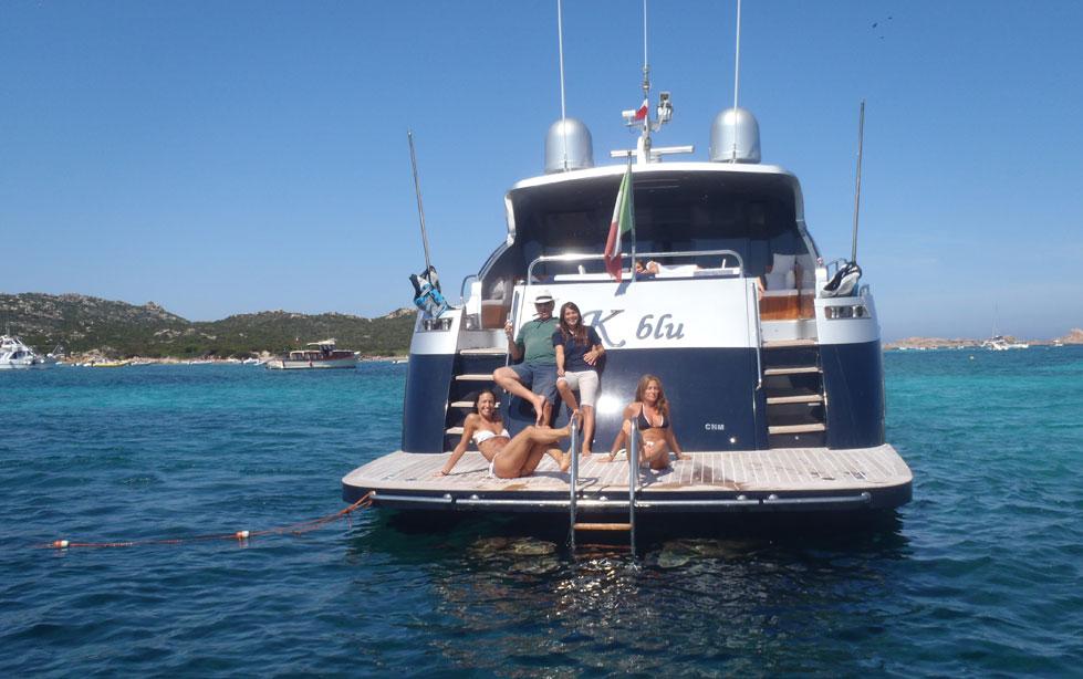 Motor yacht K BLU -  At View