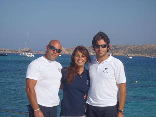 Motor yacht K BLU -  Crew