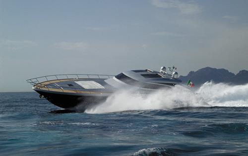 Motor yacht K BLU -  Cruising