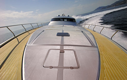 Motor yacht K BLU -  Foredeck