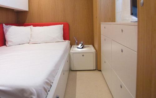 Motor yacht K BLU -  Single Cabin with Pullman