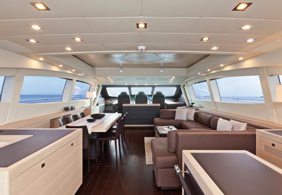 Motor yacht KAWAI -  Main Salon