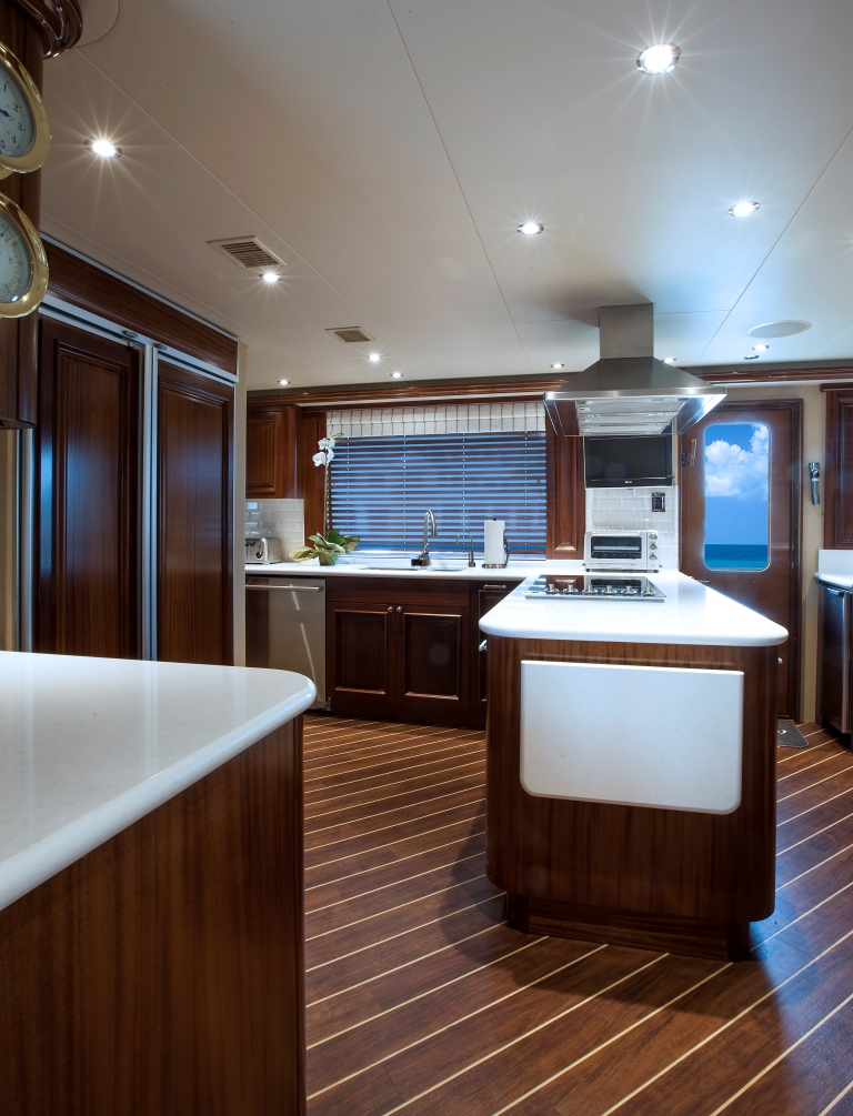 Motor yacht KEMOSBE - Galley 2