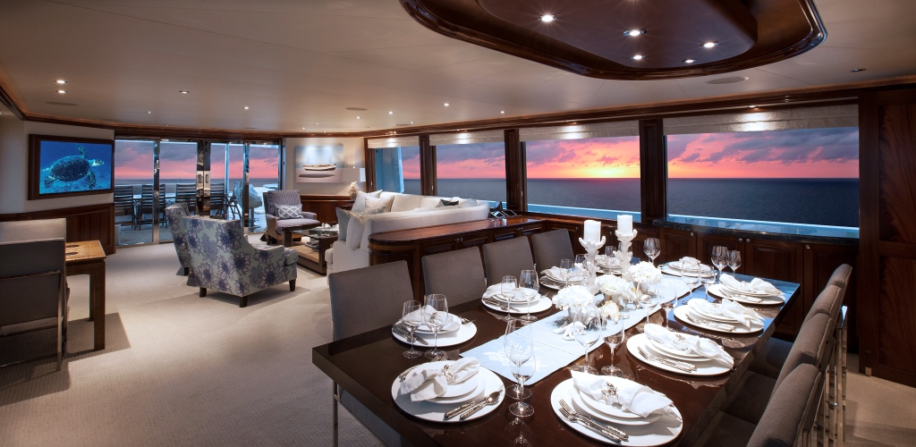 Motor yacht KEMOSBE - Salon