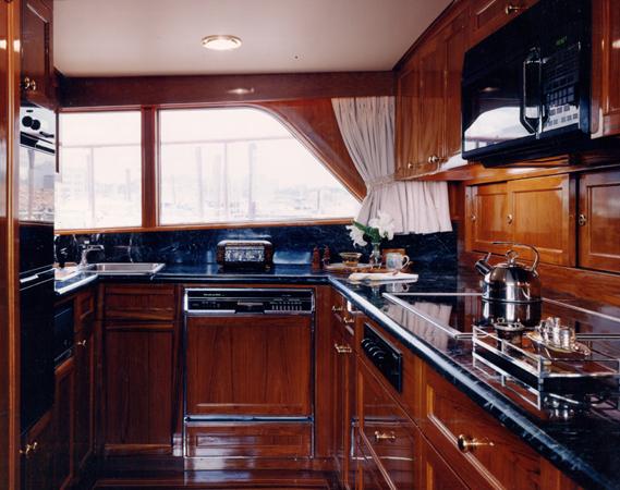 Motor yacht Keldi -  Galley