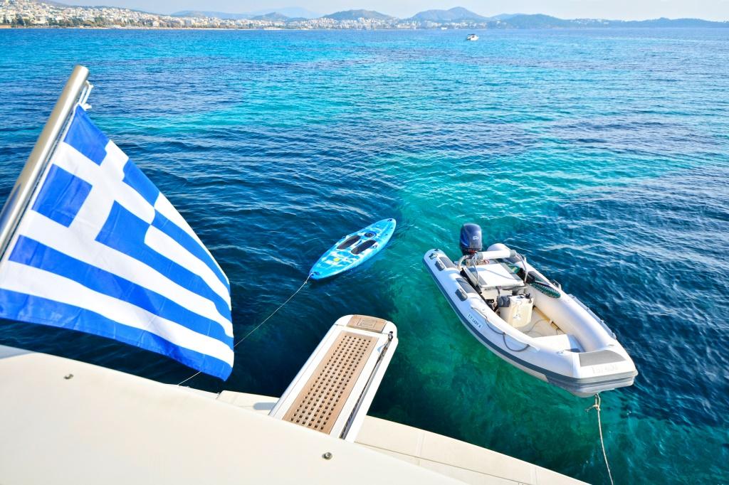 Motor yacht LADY A - Tender
