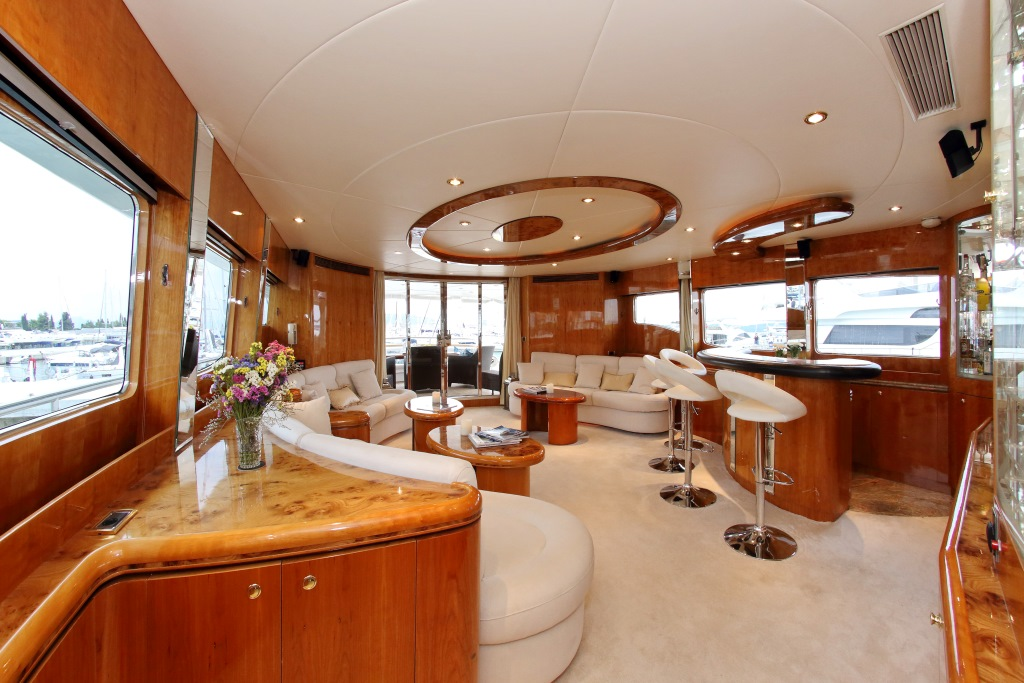 Motor yacht LADY MARCELLE - Main Salon