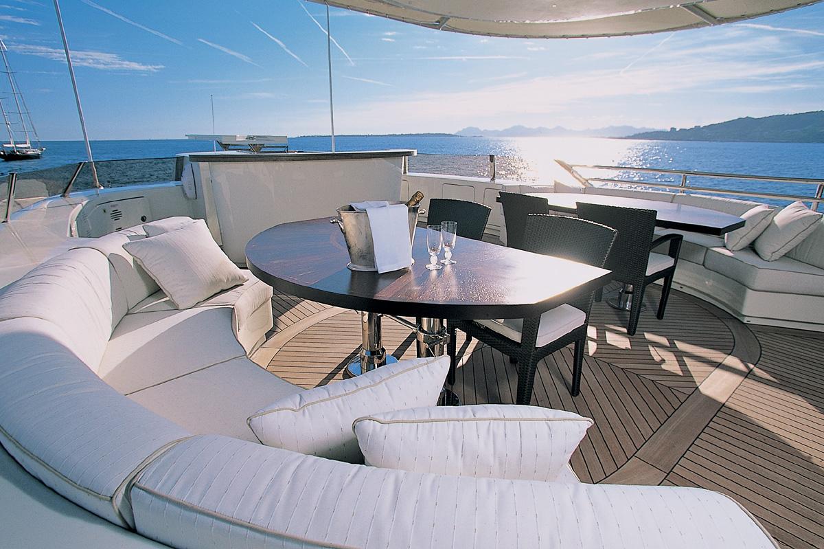 Motor yacht LEDRA - Upper deck