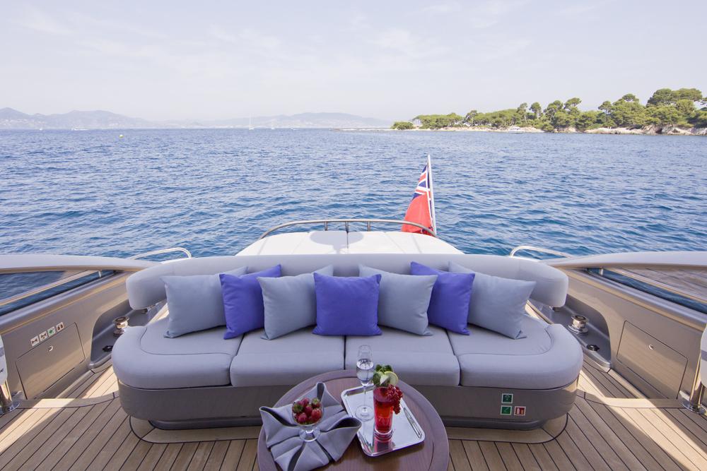 Motor yacht LULU -  Aft Deck