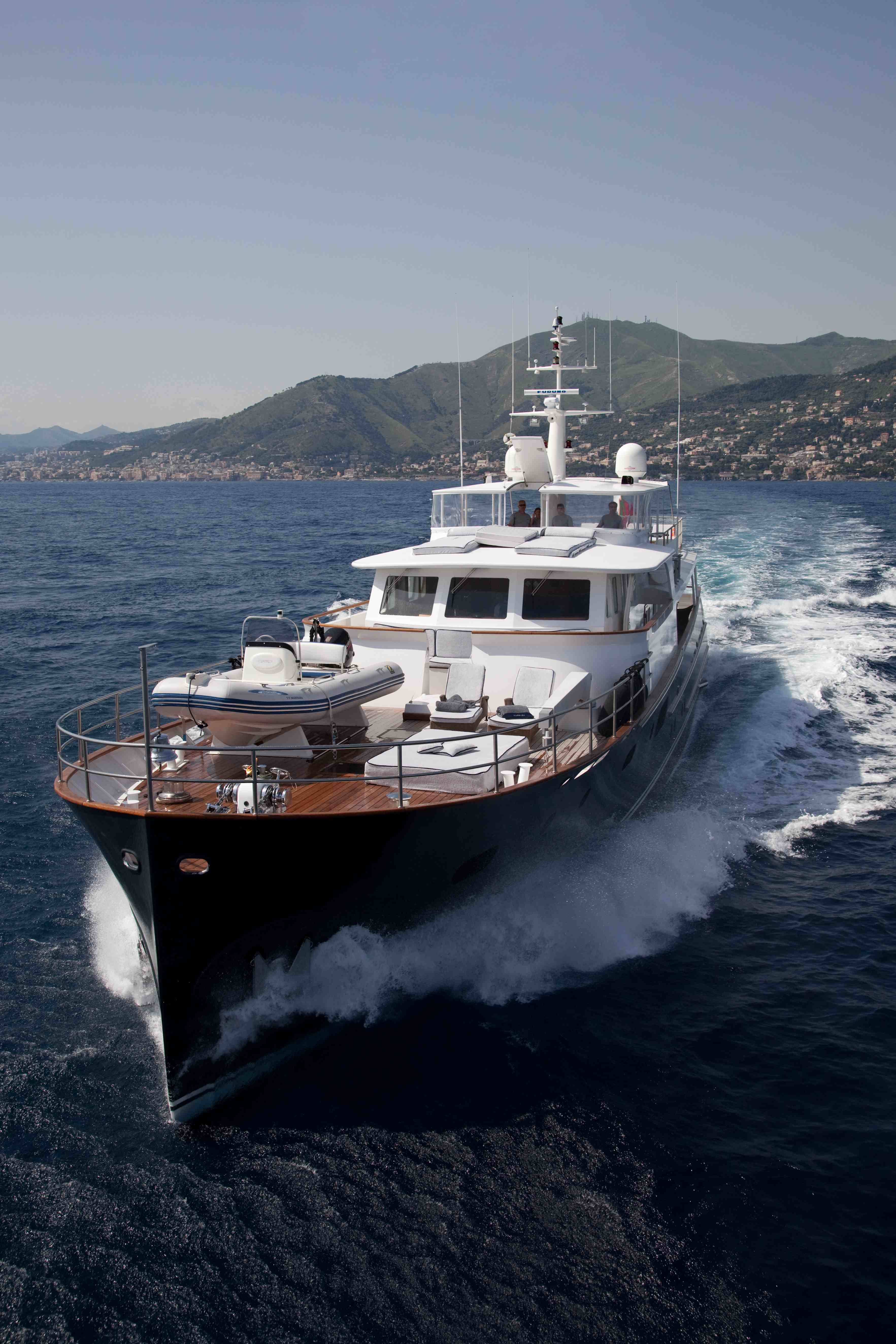 Motor yacht MARHABA - Bow