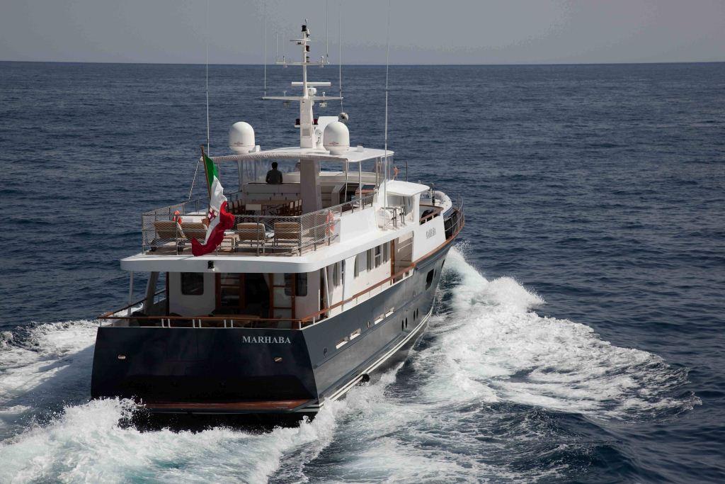 Motor yacht MARHABA - Stern