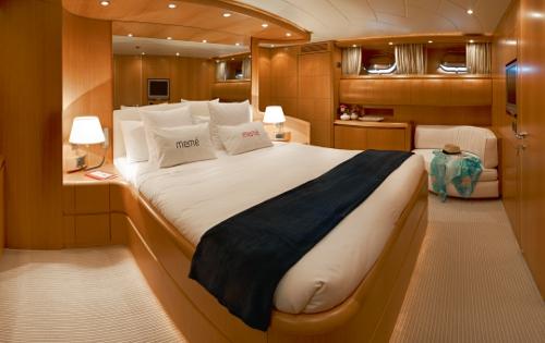 Motor yacht MEME -  Master Cabin