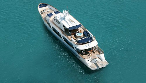 Motor yacht MONACO -  From Above