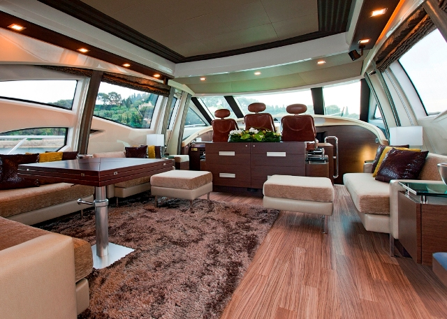 Motor yacht NAMI - Salon