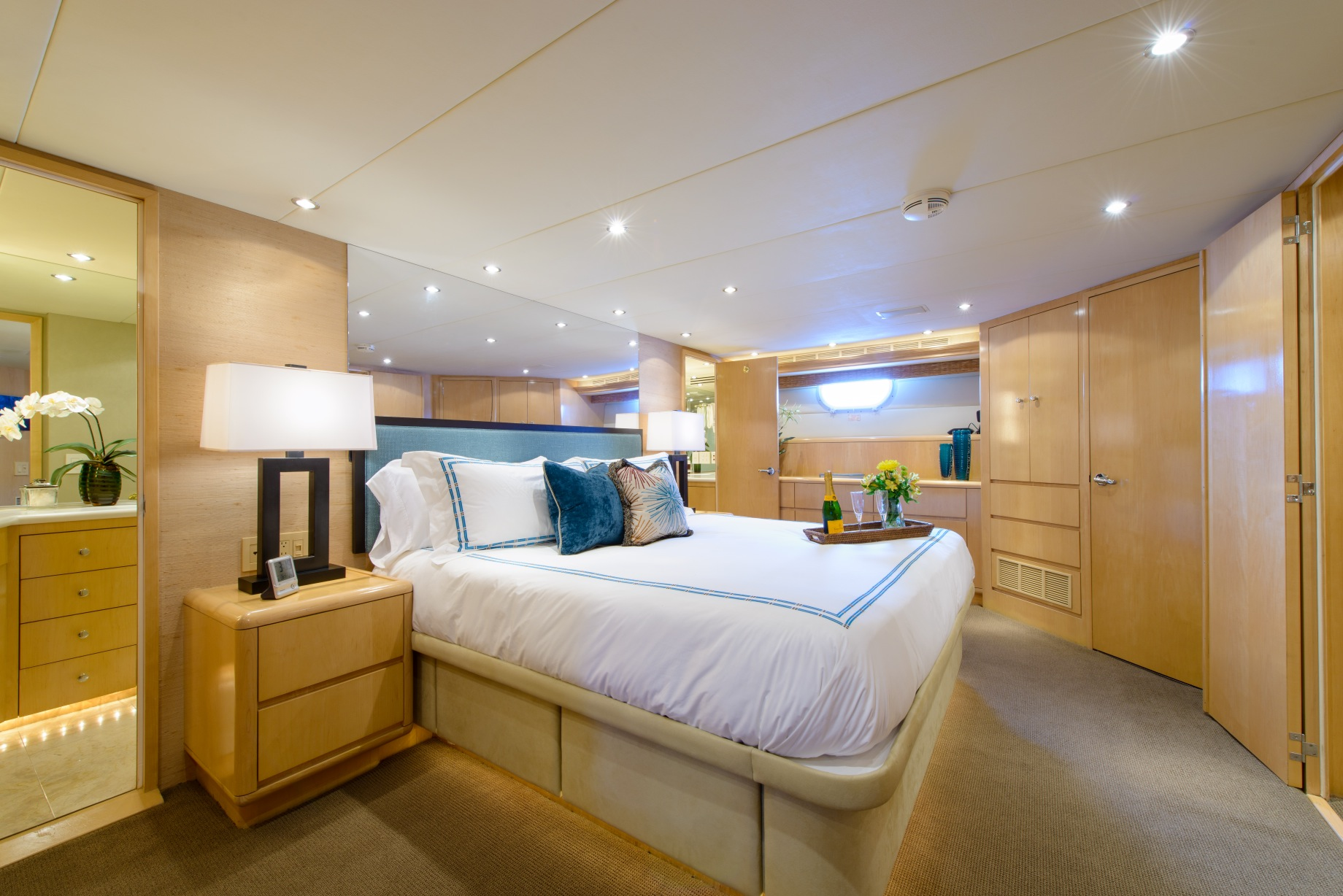 Motor yacht PERFECT LADY - Master Cabin