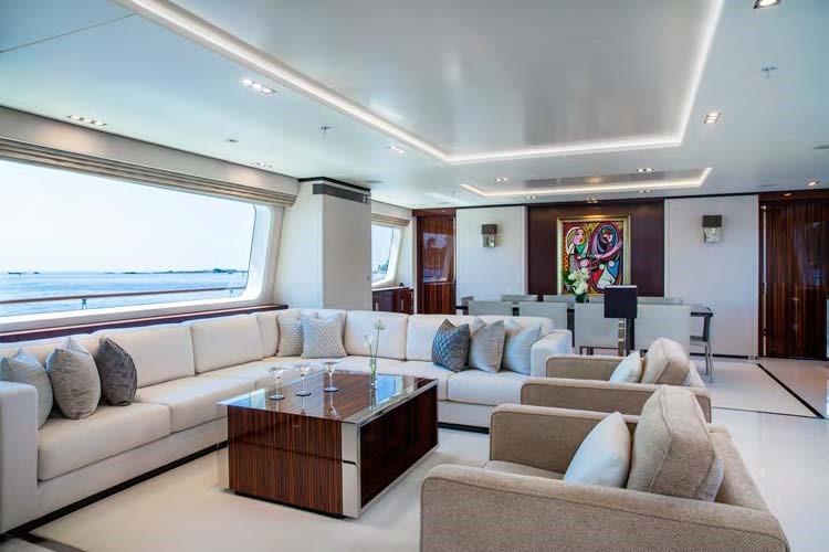 Motor yacht POLLY -  Main Salon