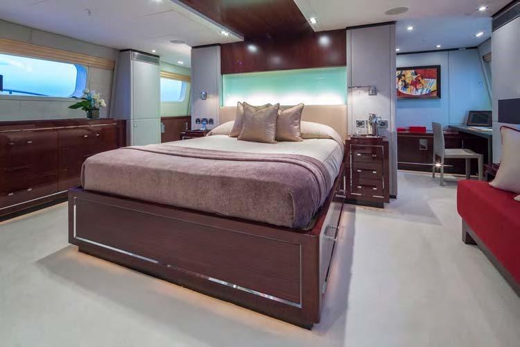 Motor yacht POLLY -  Master Cabin