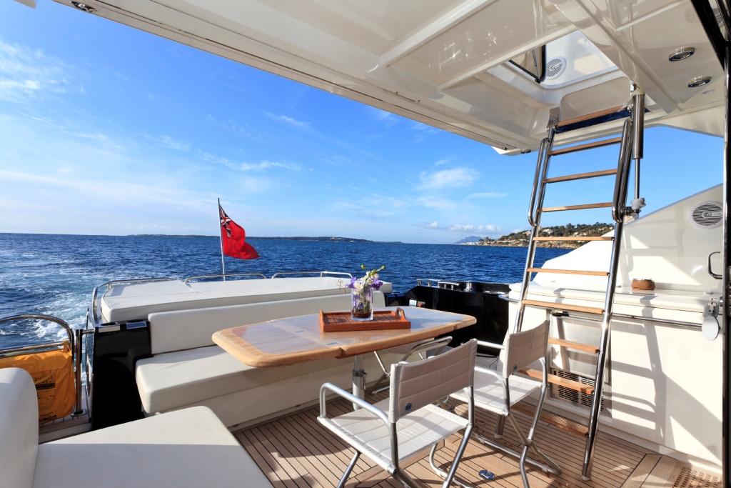 Motor yacht PULSAR - Aft Deck