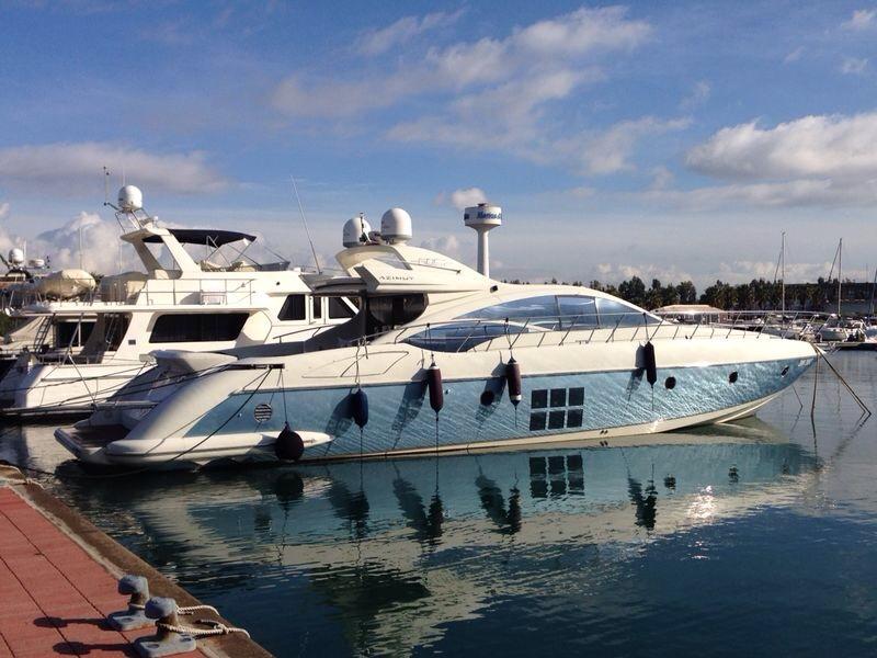 Motor yacht SABEA MEA - In Port