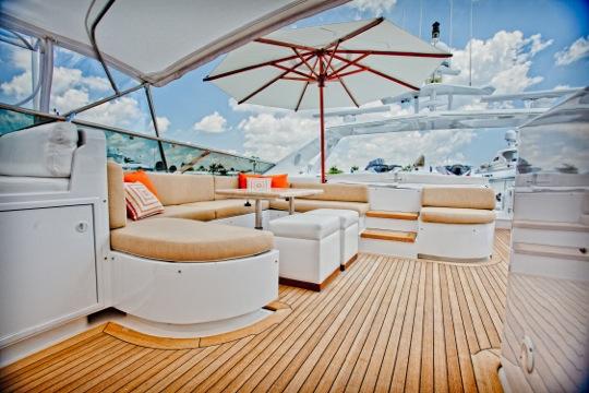 Motor yacht SALACIA - Flybridge