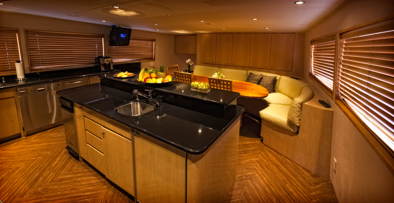 Motor yacht SALACIA - Galley