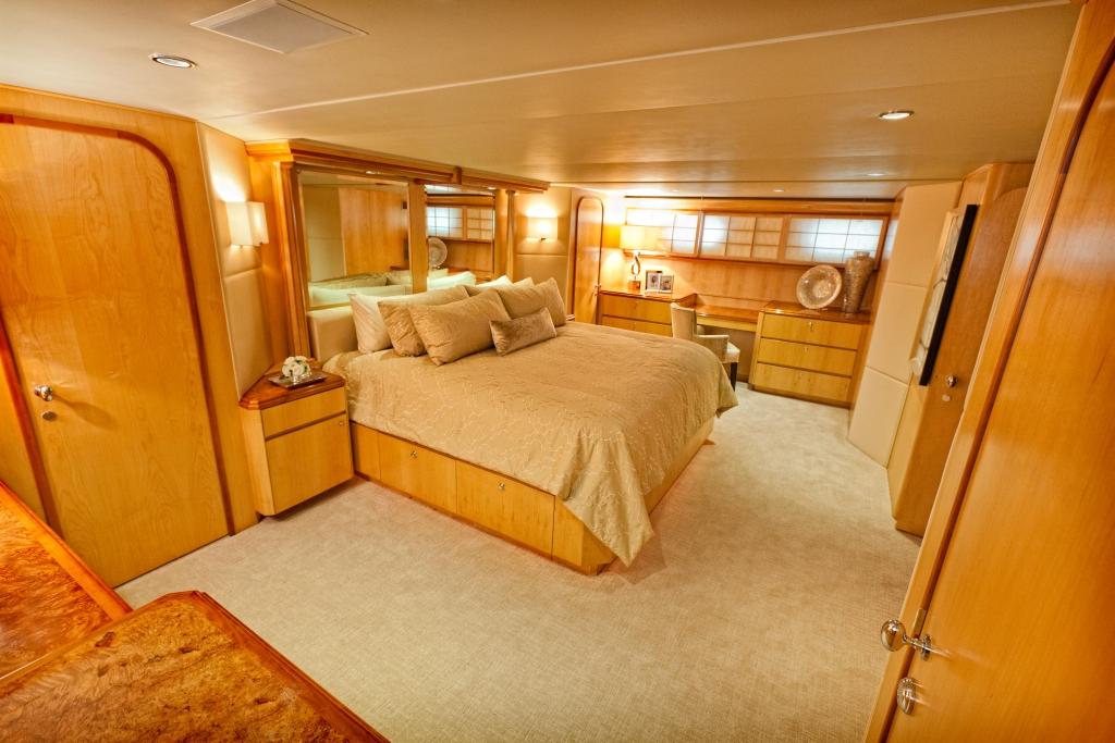 Motor yacht SALACIA - Master Cabin