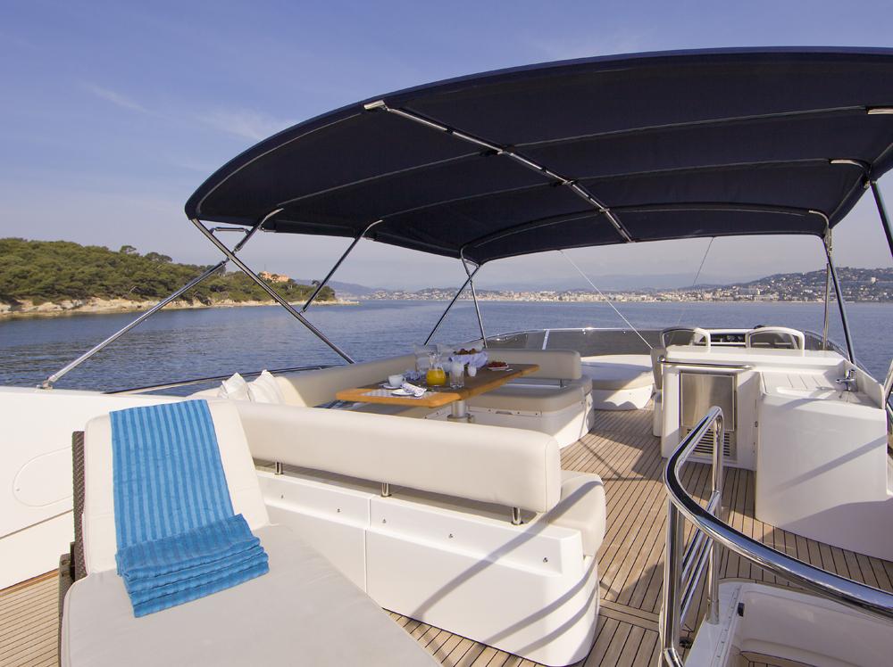 Motor yacht SAMAKANDA -  Flybridge 3