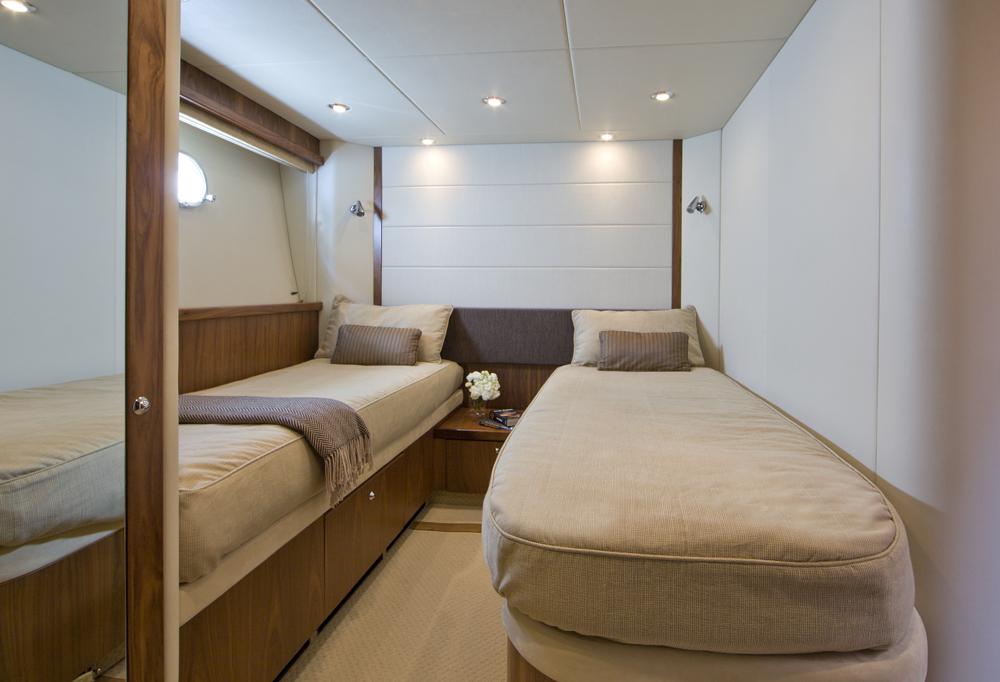 Motor yacht SAMAKANDA -  Twin Cabin