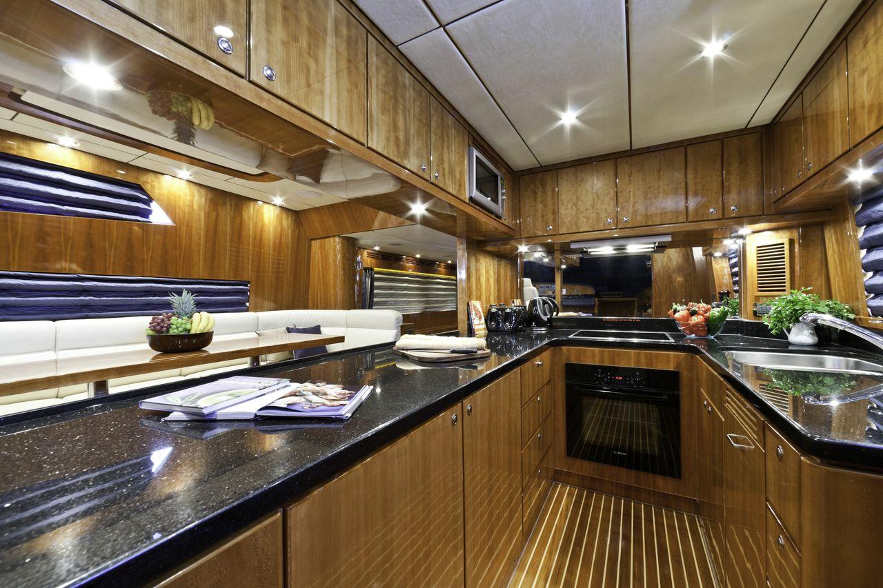 Motor yacht SAMARIC  -  Galley