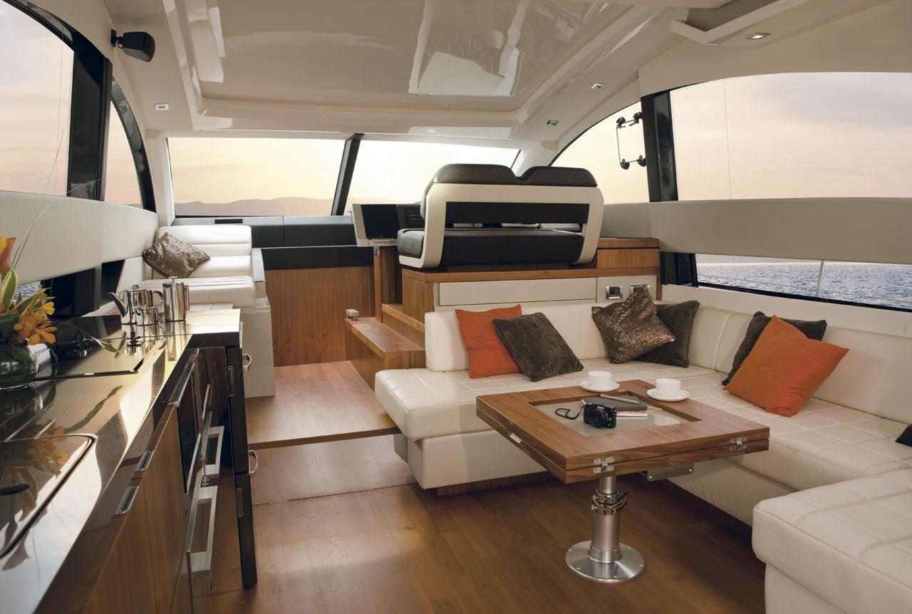 Motor yacht SERENITY - Salon