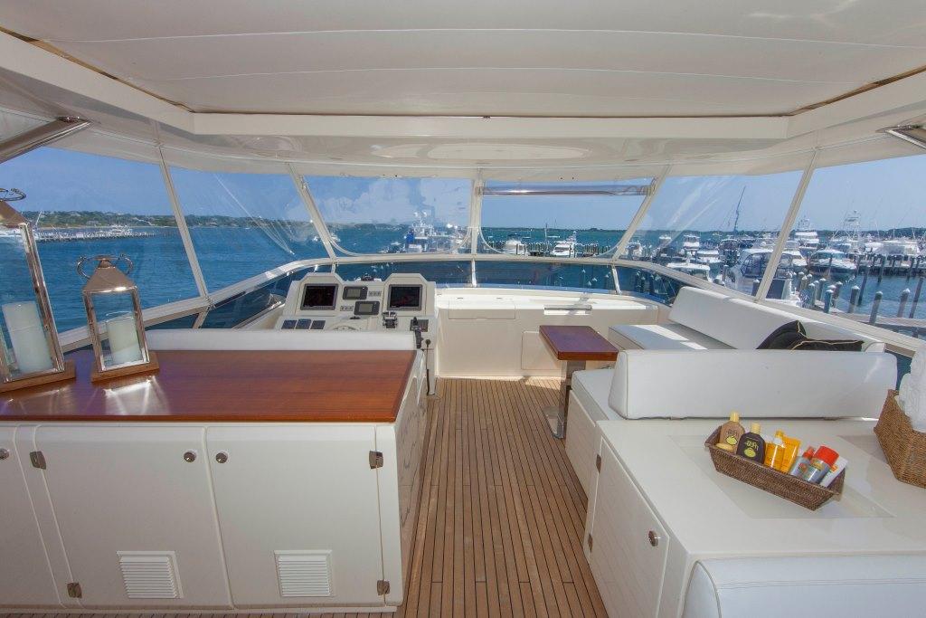Motor yacht SORRIDENTE - Sundeck bar
