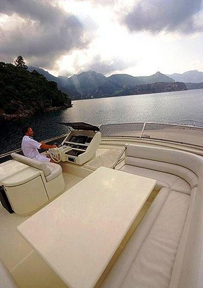 Motor yacht SPLENDIDO -  Top Deck