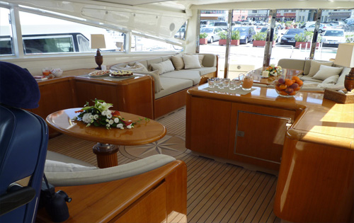 Motor yacht SVEA -  Salon