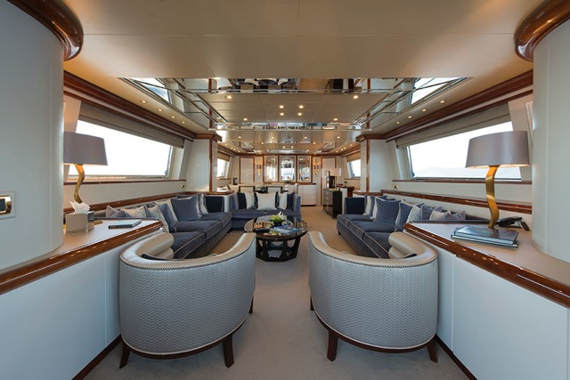 Motor yacht THE WELLESLEY - Salon
