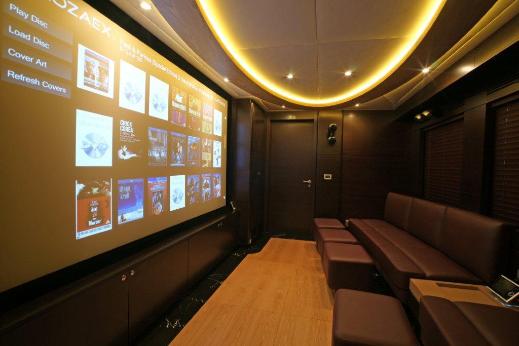 Motor yacht Tatiana - Cinema