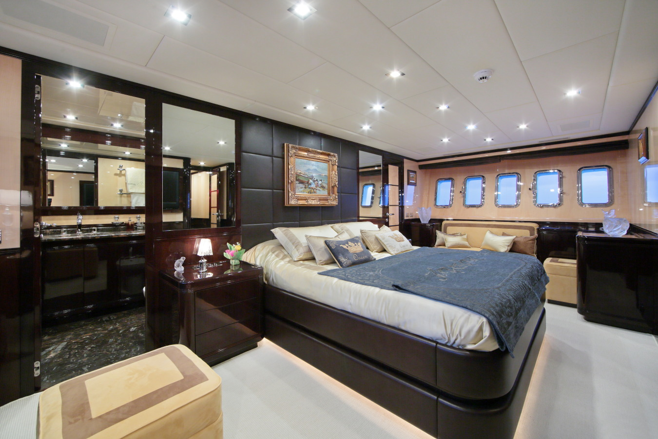 Motor yacht VERA - Master Cabin