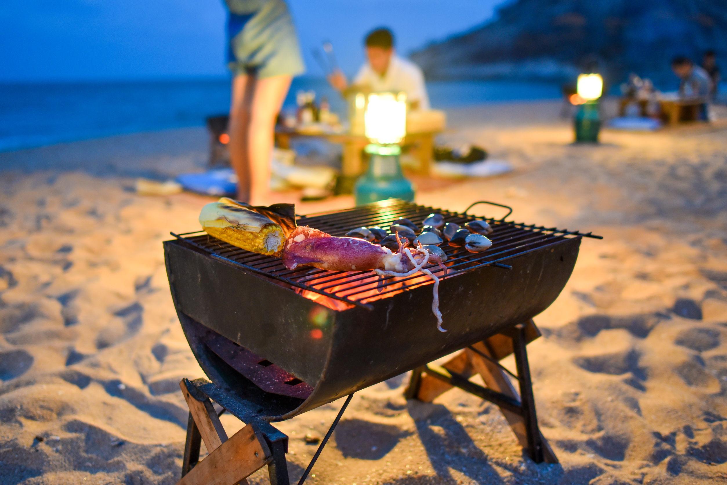 Nyaman - Beach BBQ