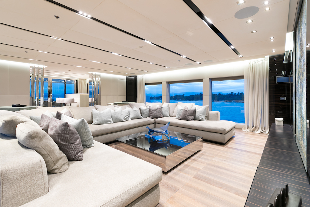 OURANOS SUPERYACHT SALOON FOR ENTERTAINMENT