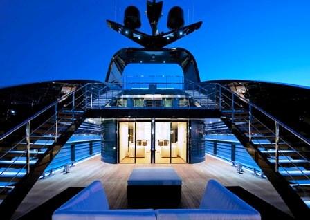 Ocean Sapphire -  Upper deck exterior