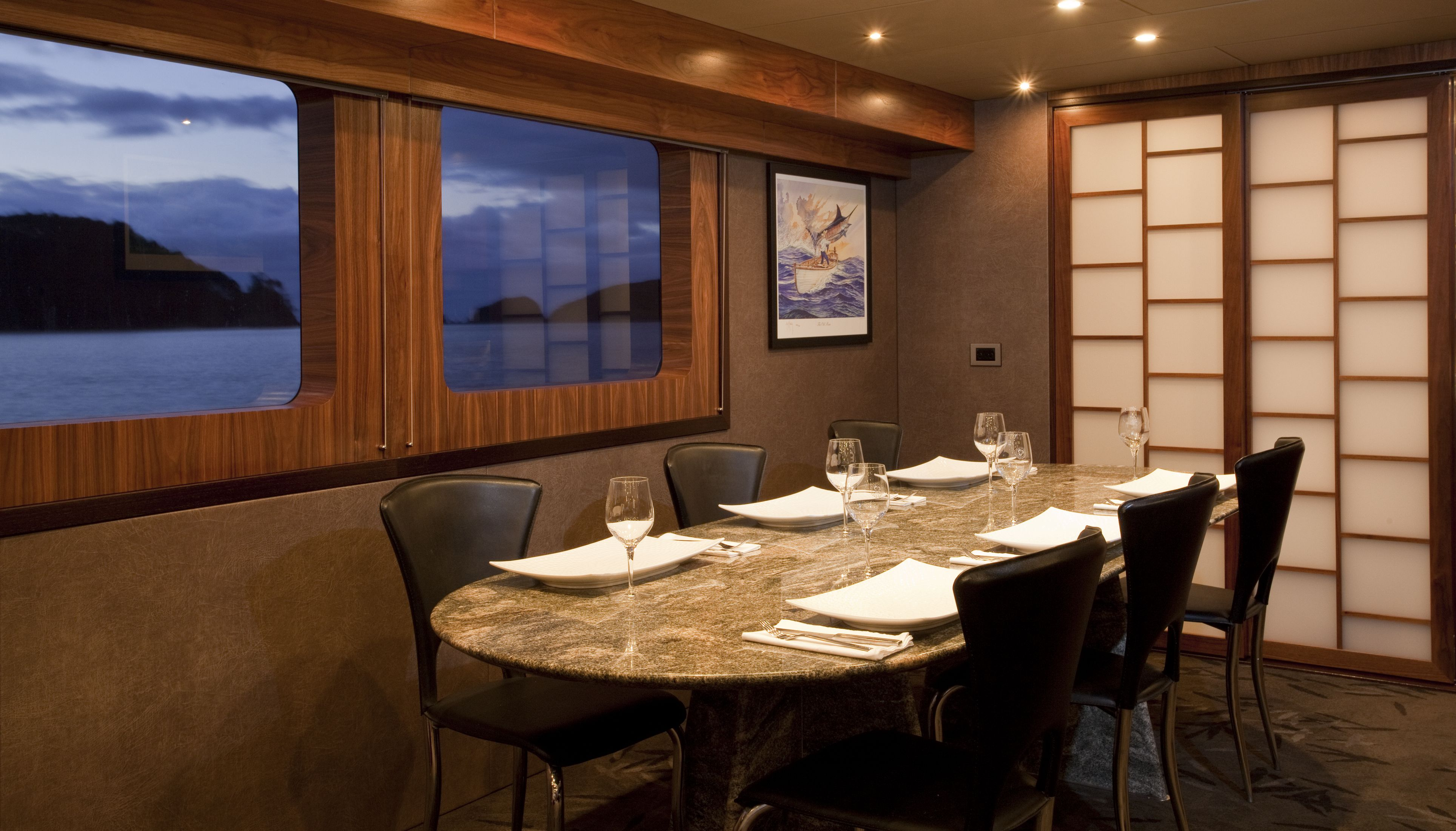 PACIFIC HQ -  Formal Dining