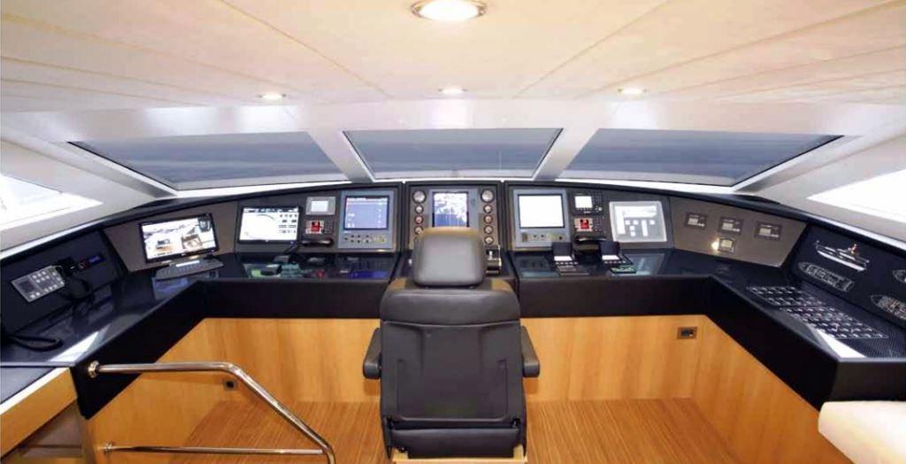 PANFELISS Motor Yacht -   Wheelhouse