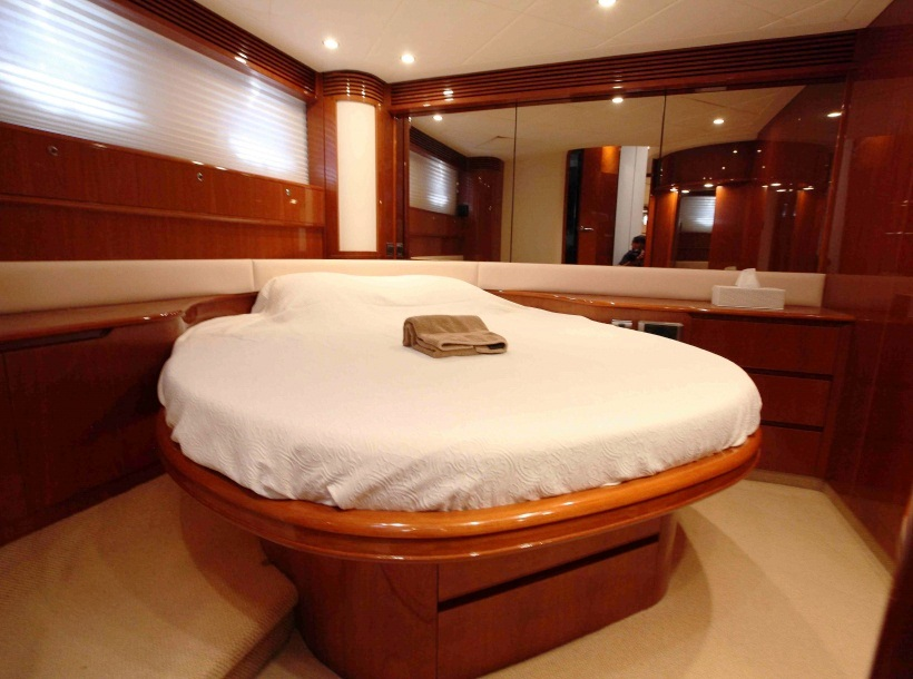 Princess Yacht PURA VIDA -  Master Cabin